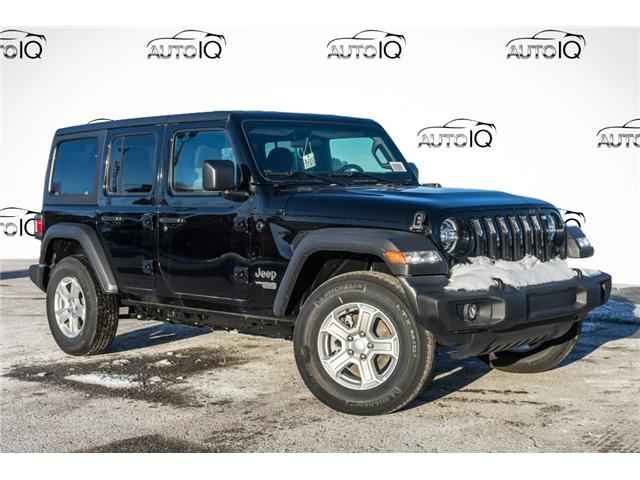 2021 Jeep Wrangler Unlimited Sport (Stk: 34303) in Barrie - Image 1 of 22