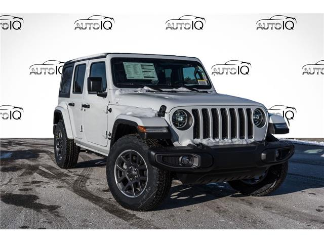 2021 Jeep Wrangler Unlimited Sport (Stk: 34683) in Barrie - Image 1 of 19