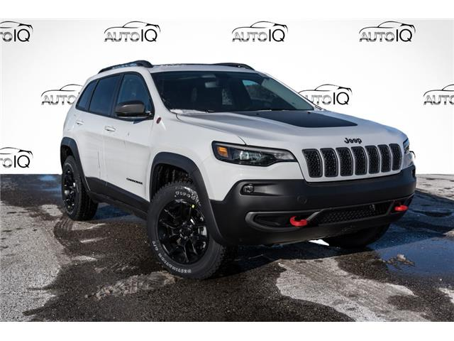 2021 Jeep Cherokee Trailhawk (Stk: 34668) in Barrie - Image 1 of 19