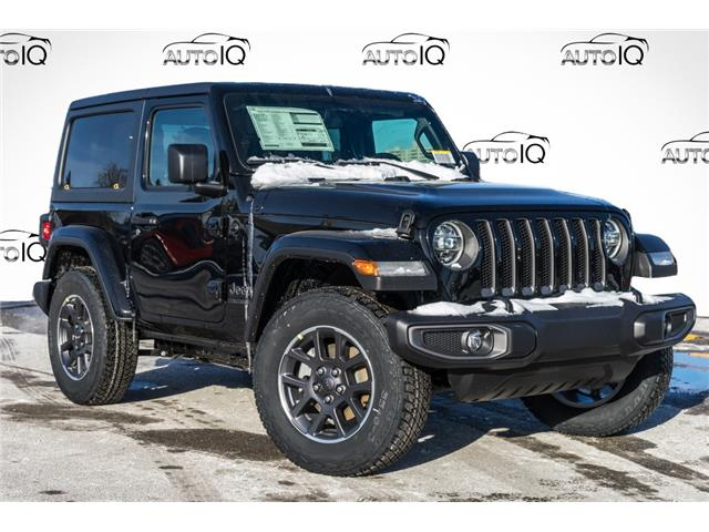 2021 Jeep Wrangler Sport (Stk: 34681) in Barrie - Image 1 of 22