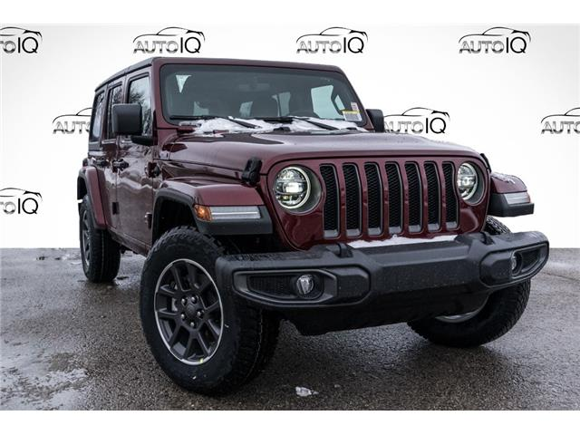 2021 Jeep Wrangler Unlimited Sport (Stk: 34715) in Barrie - Image 1 of 20