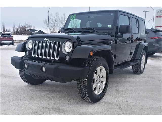 2018 Jeep Wrangler JK Unlimited Sahara (Stk: TAM032A) in Lloydminster - Image 1 of 16