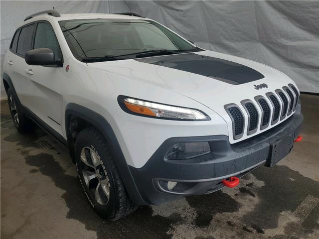 2017 Jeep Cherokee Trailhawk (Stk: IU2076) in Thunder Bay - Image 1 of 11