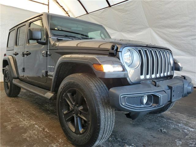 2018 Jeep Wrangler Unlimited Sahara (Stk: IU2162) in Thunder Bay - Image 1 of 16