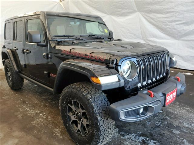 2019 Jeep Wrangler Unlimited Rubicon (Stk: U2165) in Thunder Bay - Image 1 of 18