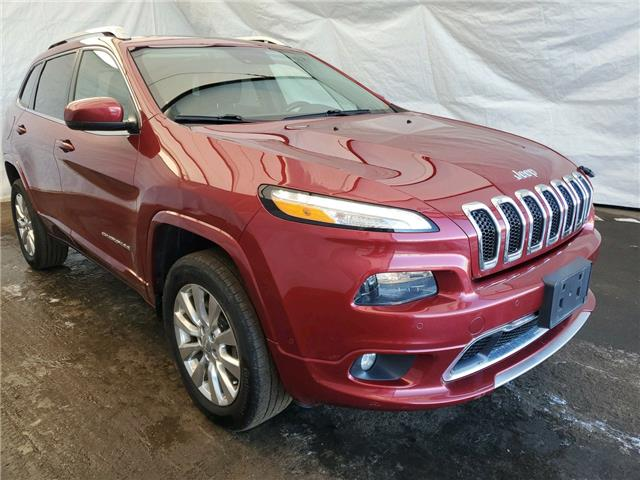 2016 Jeep Cherokee Overland (Stk: 2110871) in Thunder Bay - Image 1 of 21