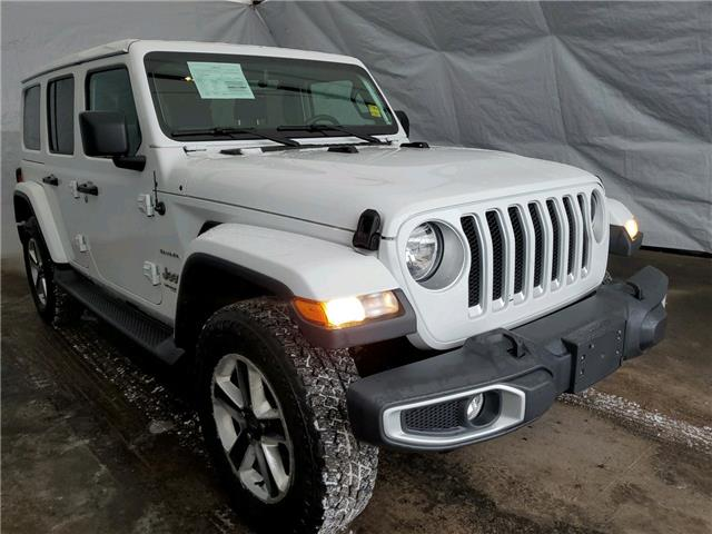 2019 Jeep Wrangler Unlimited Sahara (Stk: I20721) in Thunder Bay - Image 1 of 18