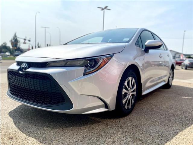 2021 Toyota Corolla Hybrid Base w/Li Battery (Stk: BB2444) in Medicine Hat - Image 1 of 19