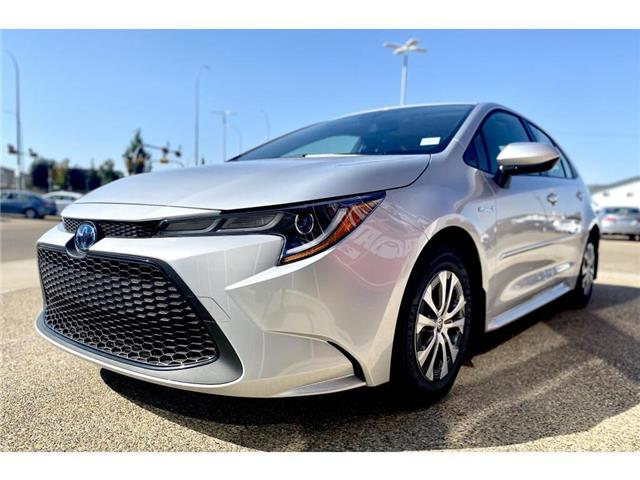 2021 Toyota Corolla Hybrid Base w/Li Battery (Stk: BB5370) in Medicine Hat - Image 1 of 20