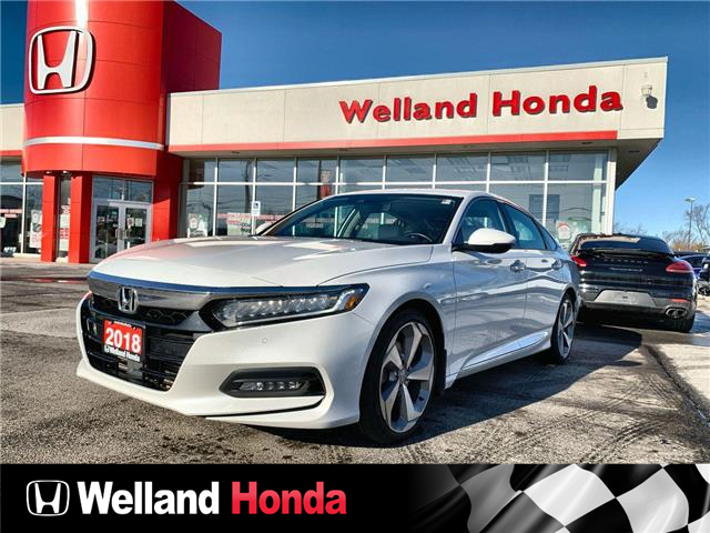 2018 Honda Accord Touring (Stk: U20409) in Welland - Image 1 of 20