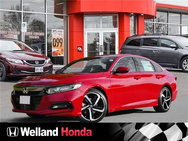 2020 Honda Accord Sport 1.5T (Stk: N20363) in Welland - Image 1 of 23