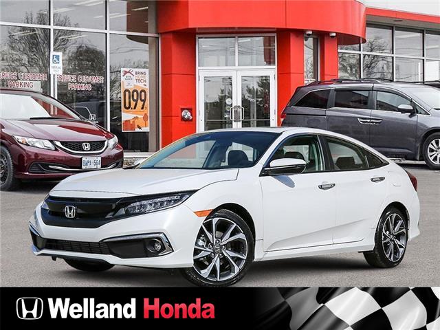 2021 Honda Civic Touring (Stk: N21027) in Welland - Image 1 of 23