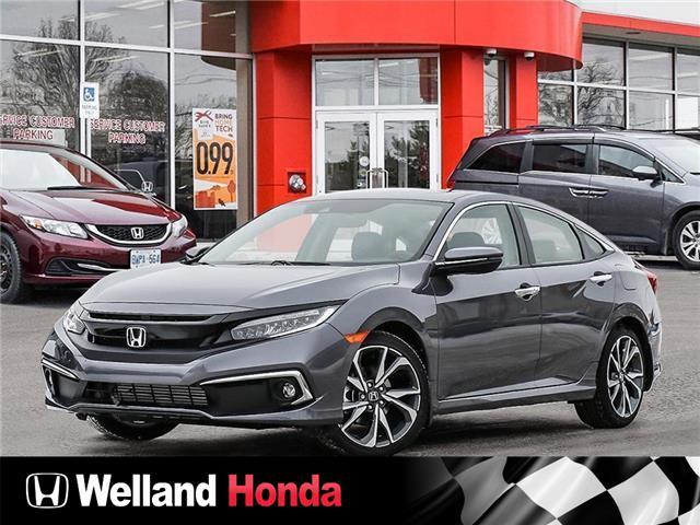 2021 Honda Civic Touring (Stk: N21039) in Welland - Image 1 of 23