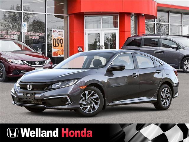 2021 Honda Civic EX (Stk: N21046) in Welland - Image 1 of 23