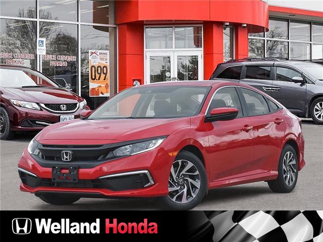 2021 Honda Civic EX (Stk: N21086) in Welland - Image 1 of 23