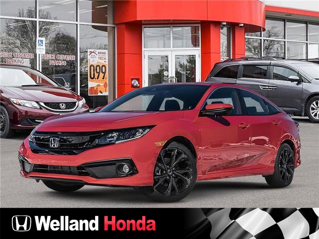 2021 Honda Civic Sport (Stk: N21089) in Welland - Image 1 of 21
