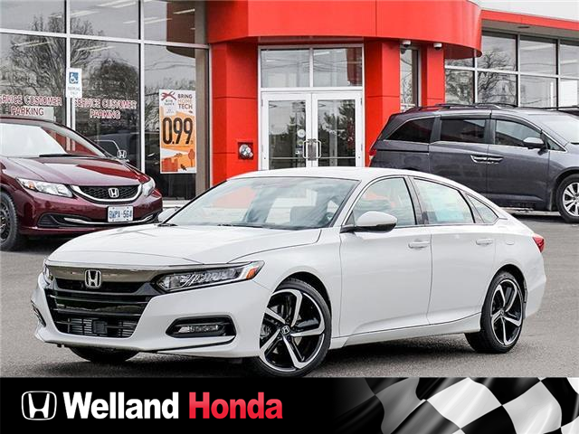 2021 Honda Accord Sport 1.5T (Stk: N21124) in Welland - Image 1 of 22