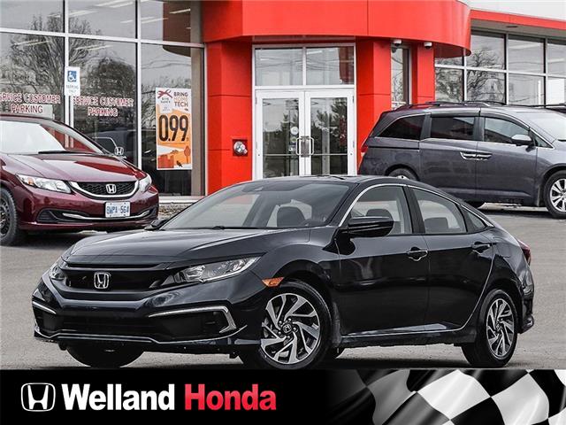 2021 Honda Civic EX (Stk: N21157) in Welland - Image 1 of 23