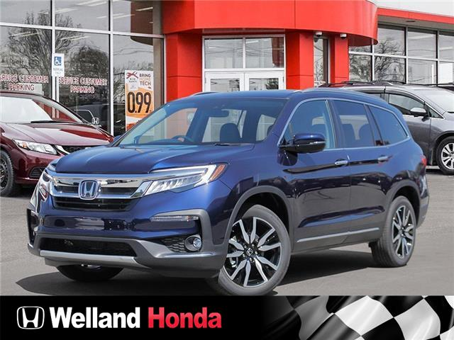2021 Honda Pilot Touring 8P (Stk: N21179) in Welland - Image 1 of 23