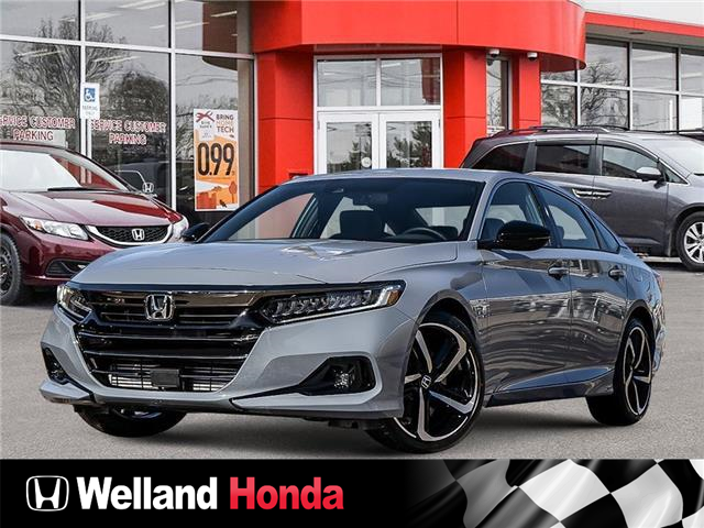 2021 Honda Accord Sport 1.5T (Stk: N21053) in Welland - Image 1 of 23
