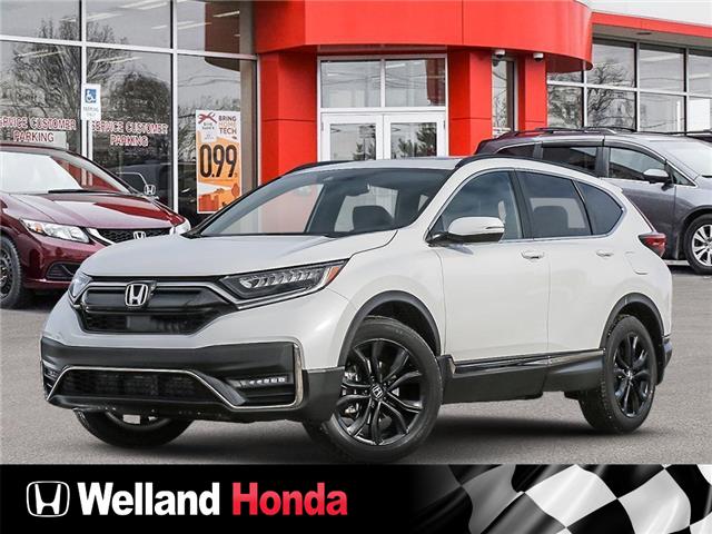 2021 Honda CR-V Black Edition (Stk: N21184) in Welland - Image 1 of 23