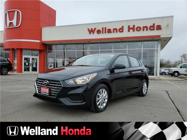 2019 Hyundai Accent Preferred (Stk: U6908) in Welland - Image 1 of 20