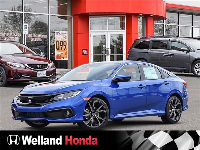 2021 Honda Civic Sport (Stk: N21195) in Welland - Image 1 of 23