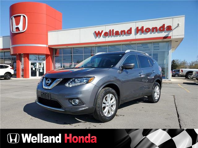 2016 Nissan Rogue SV (Stk: U21101) in Welland - Image 1 of 19
