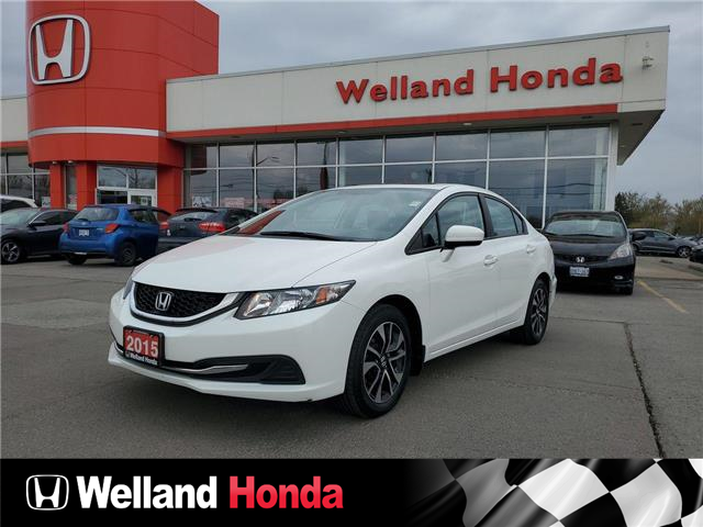 2015 Honda Civic EX (Stk: U6914) in Welland - Image 1 of 18