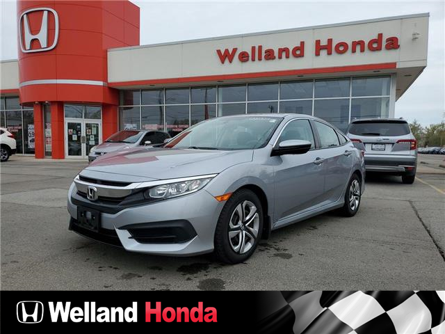 2017 Honda Civic LX (Stk: U20309) in Welland - Image 1 of 1