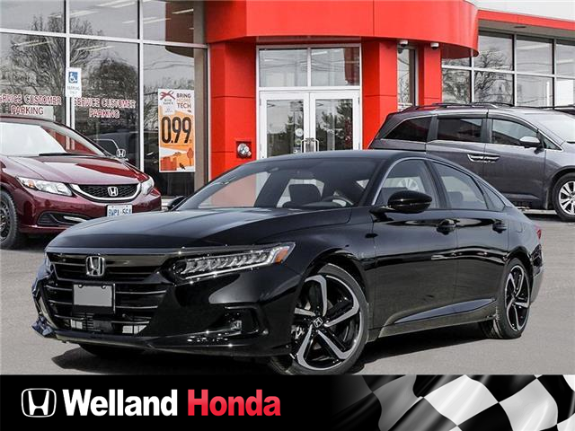 2021 Honda Accord SE 1.5T (Stk: N21211) in Welland - Image 1 of 23