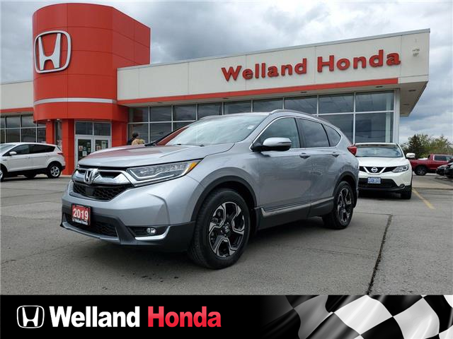 2019 Honda CR-V Touring (Stk: U21208) in Welland - Image 1 of 18