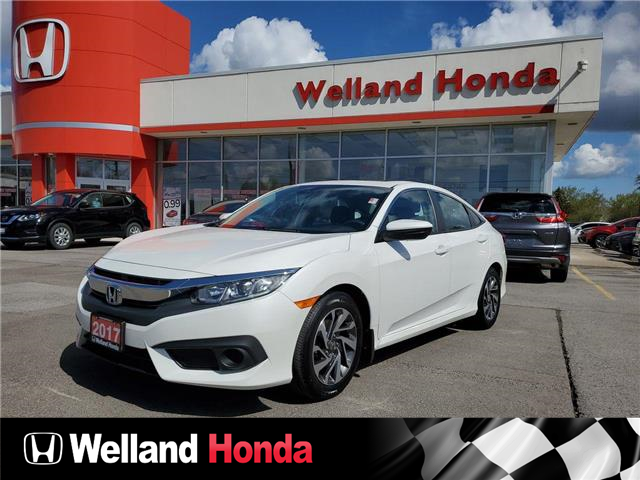 2017 Honda Civic EX (Stk: U6931) in Welland - Image 1 of 1