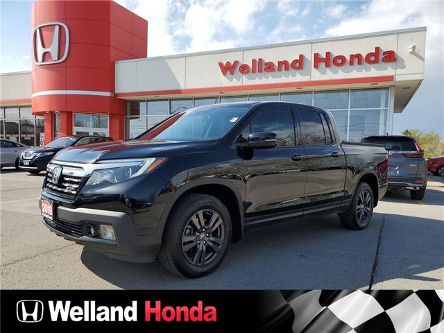 2019 Honda Ridgeline Sport (Stk: U6929) in Welland - Image 1 of 15
