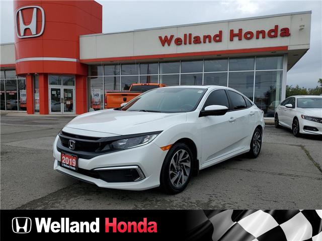 2019 Honda Civic EX (Stk: U7040) in Welland - Image 1 of 11