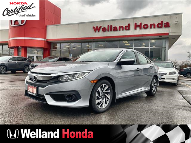 2018 Honda Civic SE (Stk: U6865) in Welland - Image 1 of 22