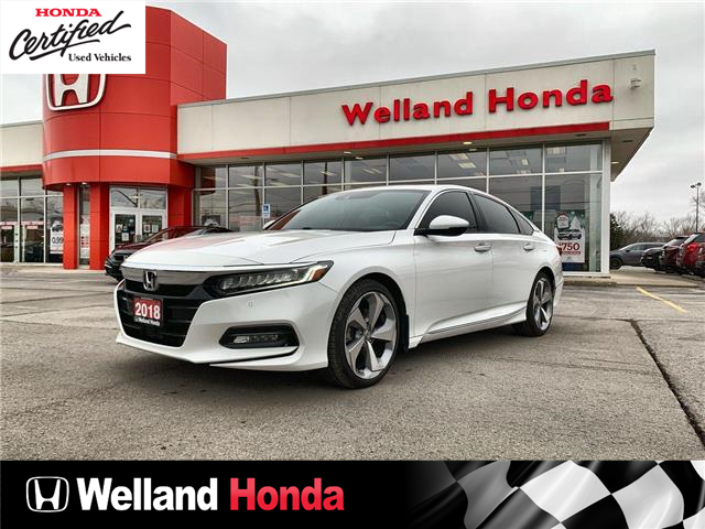2018 Honda Accord Touring (Stk: U20400) in Welland - Image 1 of 25