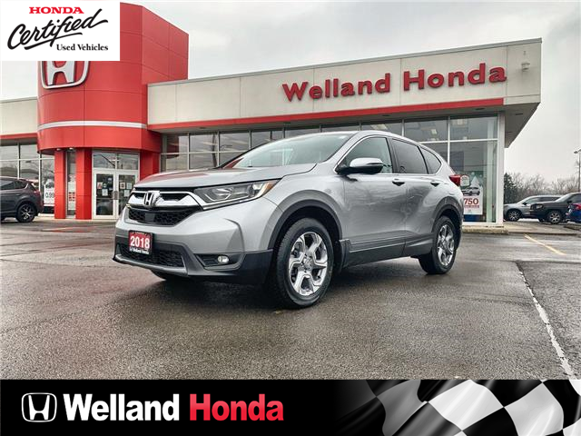 2018 Honda CR-V EX (Stk: U21018) in Welland - Image 1 of 25