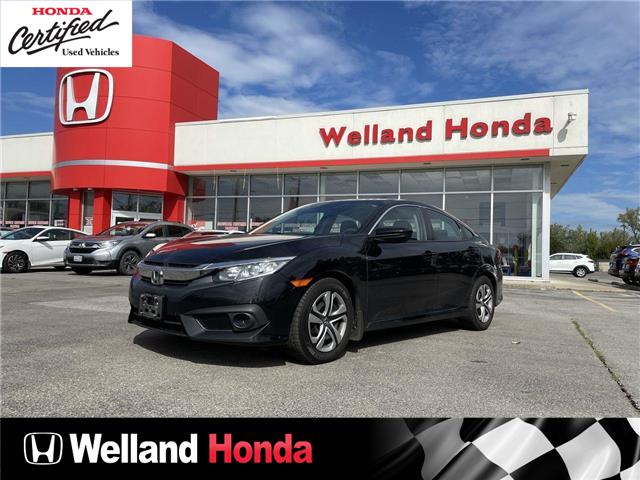 2017 Honda Civic LX (Stk: U21298A) in Welland - Image 1 of 1