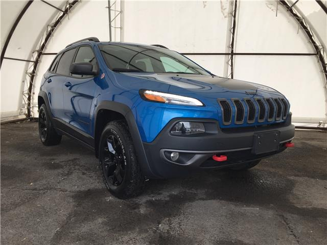 2017 Jeep Cherokee Trailhawk (Stk: A8723B) in Ottawa - Image 1 of 28