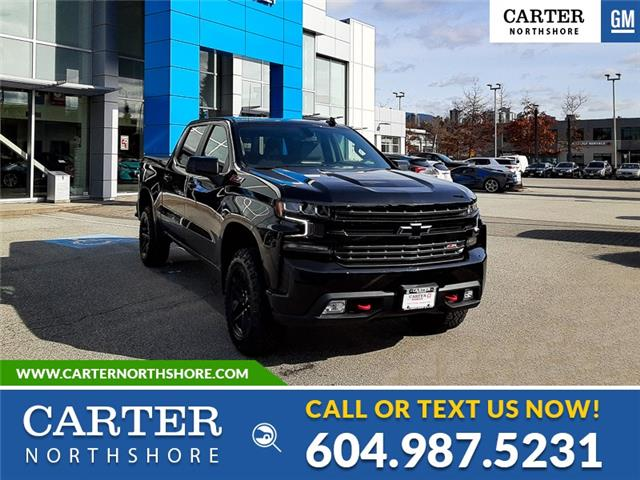 2021 Chevrolet Silverado 1500 LT Trail Boss (Stk: 1L8587T) in North Vancouver - Image 1 of 13