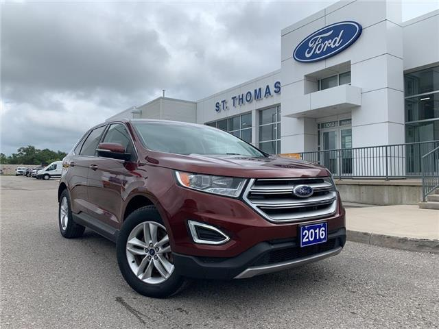 2016 Ford Edge SEL (Stk: T0465A) in St. Thomas - Image 1 of 29