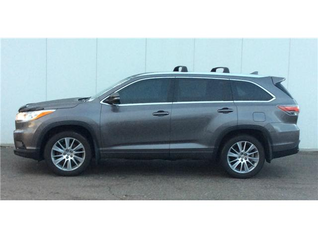 Amazing Marie   Image; 2014 Toyota Highlander XLE (Stk: H17068A) In Sault Ste.