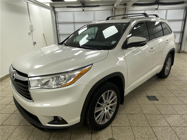 2015 Toyota Highlander XLE (Stk: 210218A) in Cochrane - Image 1 of 20