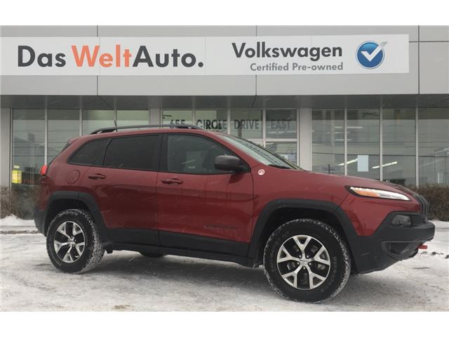 2016 Jeep Cherokee Trailhawk (Stk: V6576) in Saskatoon - Image 2 of 21
