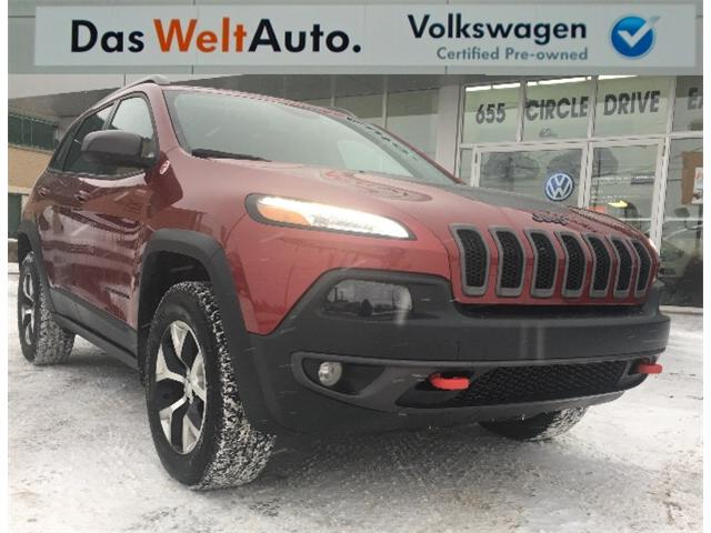 2016 Jeep Cherokee Trailhawk (Stk: V6576) in Saskatoon - Image 1 of 21