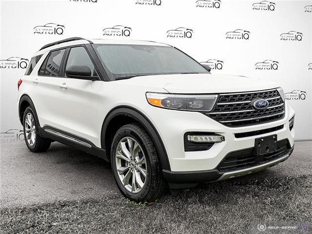 2021 Ford Explorer XLT White