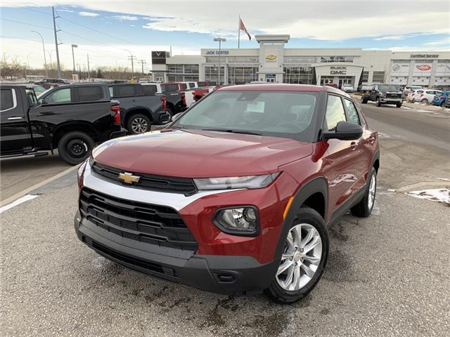 2021 Chevrolet TrailBlazer LS (Stk: MB075632) in Calgary - Image 1 of 28