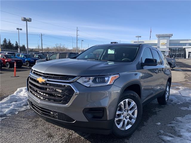 2021 Chevrolet Traverse LS (Stk: MJ134201) in Calgary - Image 1 of 29
