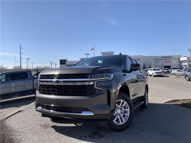 2021 Chevrolet Tahoe LS (Stk: MR283337) in Calgary - Image 1 of 27